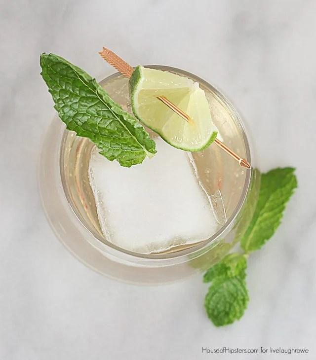 Hugo Cocktail Recipe. German Cocktail. House of Hipsters for livelaughrowe.com