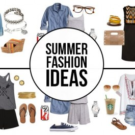 Fabulous Summer Fashion Ideas -- favorites on mine! Time to do a little shopping for the warmer weathr, right? livelaughrowe.com