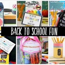 Back to School Fun featuring YOU!