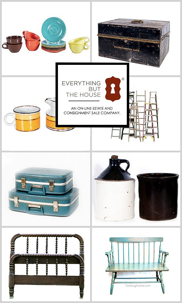 Everything But The House®. An on-line estate and consignment sale company that makes browsing and bidding on items easy, convenient and fun. Learn more at livelaughrowe.com