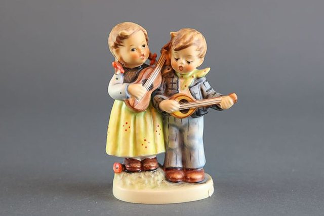 Hummel figurines found on Everything But The House estate sale.