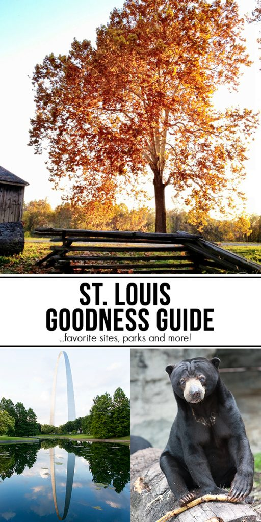 The St. Louis Goodness Guide! A few of my favorite sites, parks, and more.... www.livelaughrowe.com
