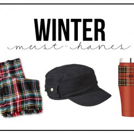 Winter Must-Haves from chapstick to boots, these are the things I couldn't face Winter without. How about you?