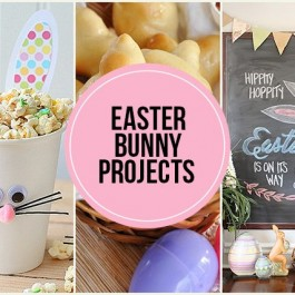 Fun Easter Bunny Projects to inspire you! From bunny rolls to bunny wreaths, these features are sure to make you smile! livelaughrowe.com