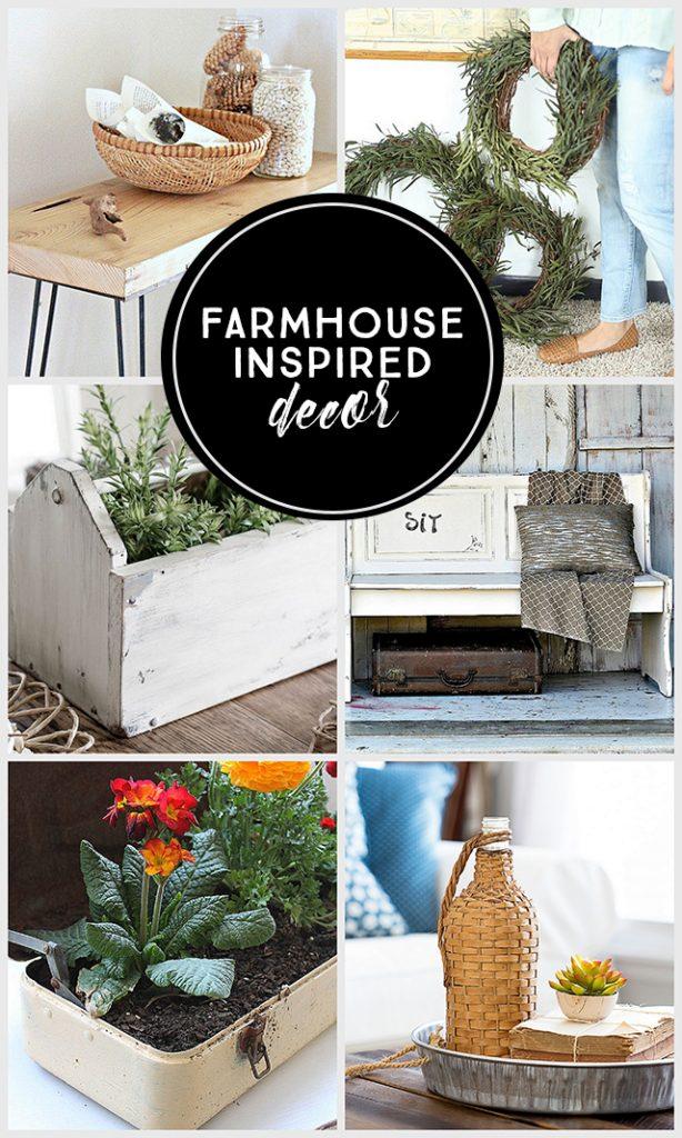 Farmhouse Inspired decor. livelaughrowe.com