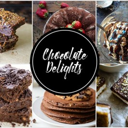 Chocolate lovers rejoice! These Chocolate Delights are sure to tempt your taste buds. livelaughrowe.com