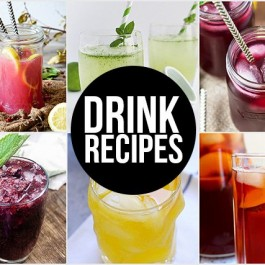 Delicious Drink Recipes to quench your thirst! livelaughrowe.com
