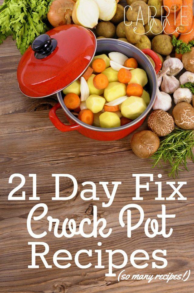 21 Day Fix Crock Pot Recipes