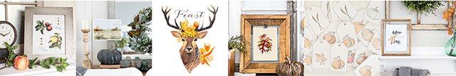 Oak Leaves Printable plus 30+ additional printables!