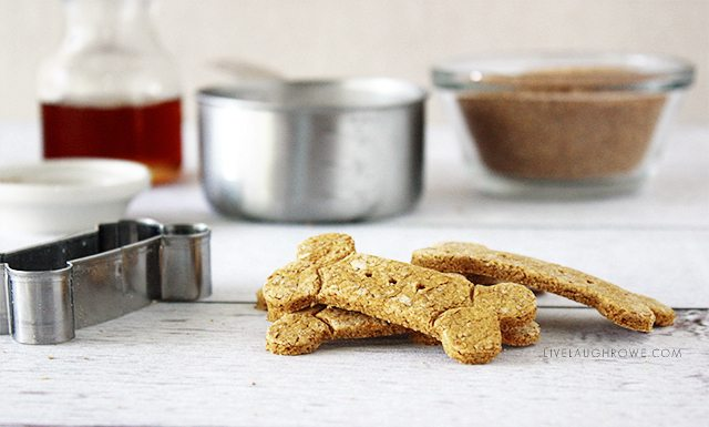 These Pumpkin and Peanut Butter Dog Treats are sure to keep your dogs tails wagging with excitement!
