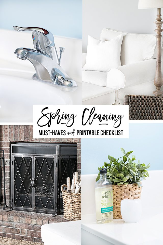 A fantastic resource! A printable Spring Cleaning Checklist that you can use year after year, with some great tips too. livelaughrowe.com