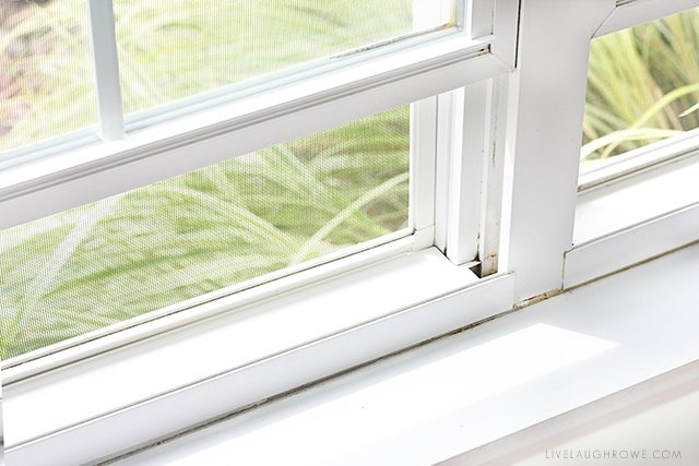 Spring Cleaning windows is a huge undertaking. livelaughrowe.com