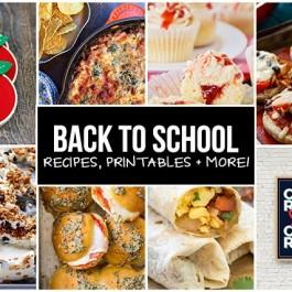 Back to School Recipes, Printables, Crafts and more! livelaughrowe.com