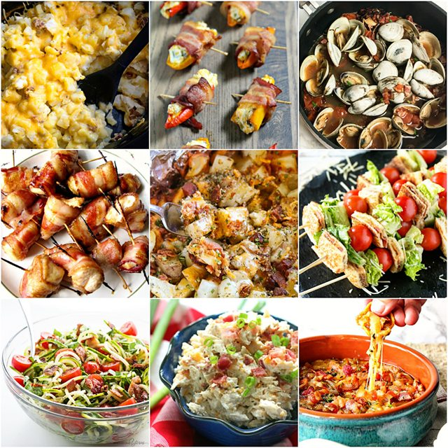Nine amazing Bacon Recipes that will make the bacon lovers heart sing! Dig in... livelaughrowe.com