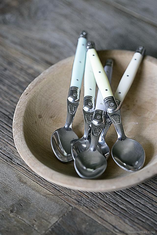 Adorable Ice Cream Spoons