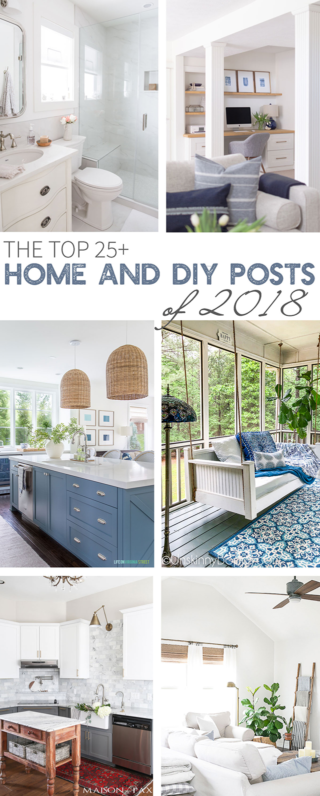 The Best of 2018 from livelaughrowe.com PLUS 20+ other fabulous Home and DIY posts to inspire you!