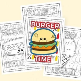 FREE printable Summer Coloring Pages to keep the kiddos busy at your next cookout or a rainy day! Grab yours at livelaughrowe.com #summer #coloringpages #printable