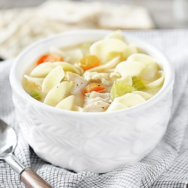 Soup and Crackers