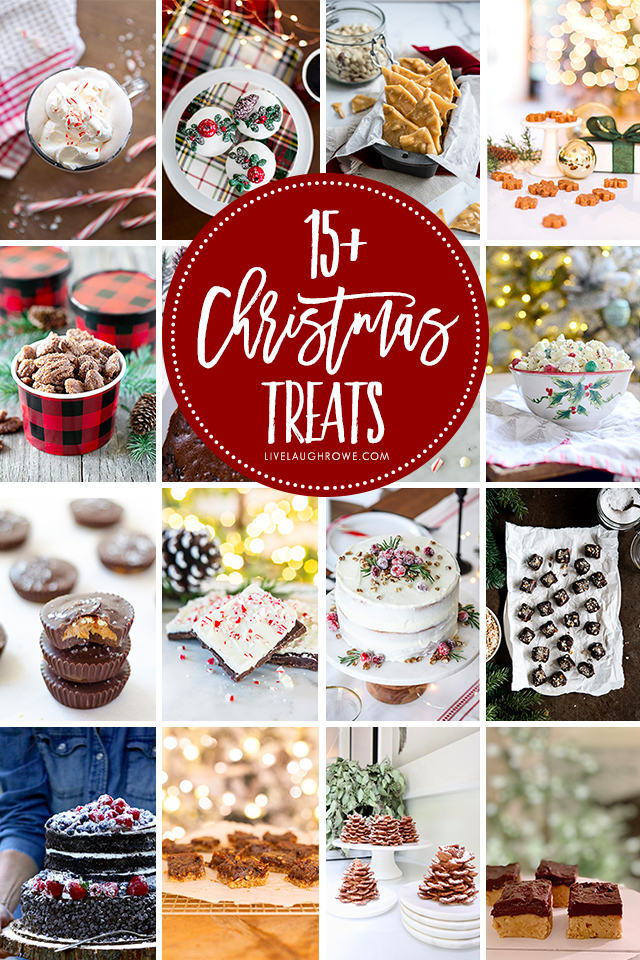Collage of Holiday Treats