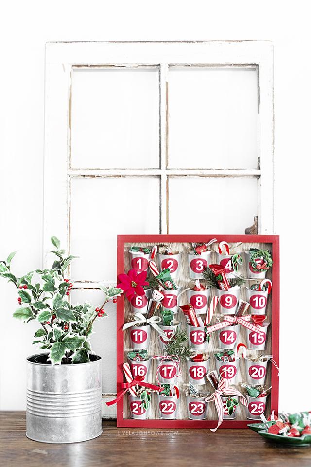 Styled Advent Calendar