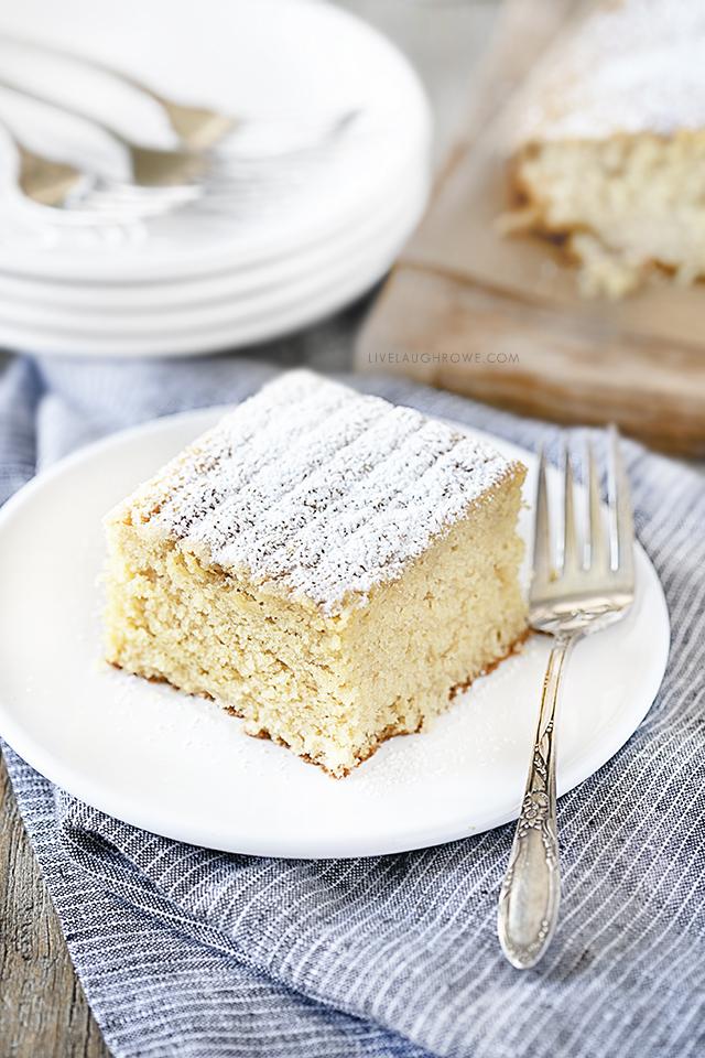 Dessert is Served! Vanilla Butter Cake