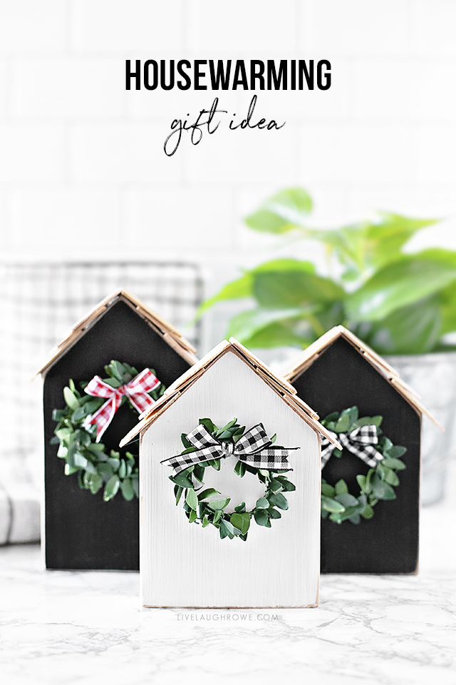 Housewarming Gift. Wood House