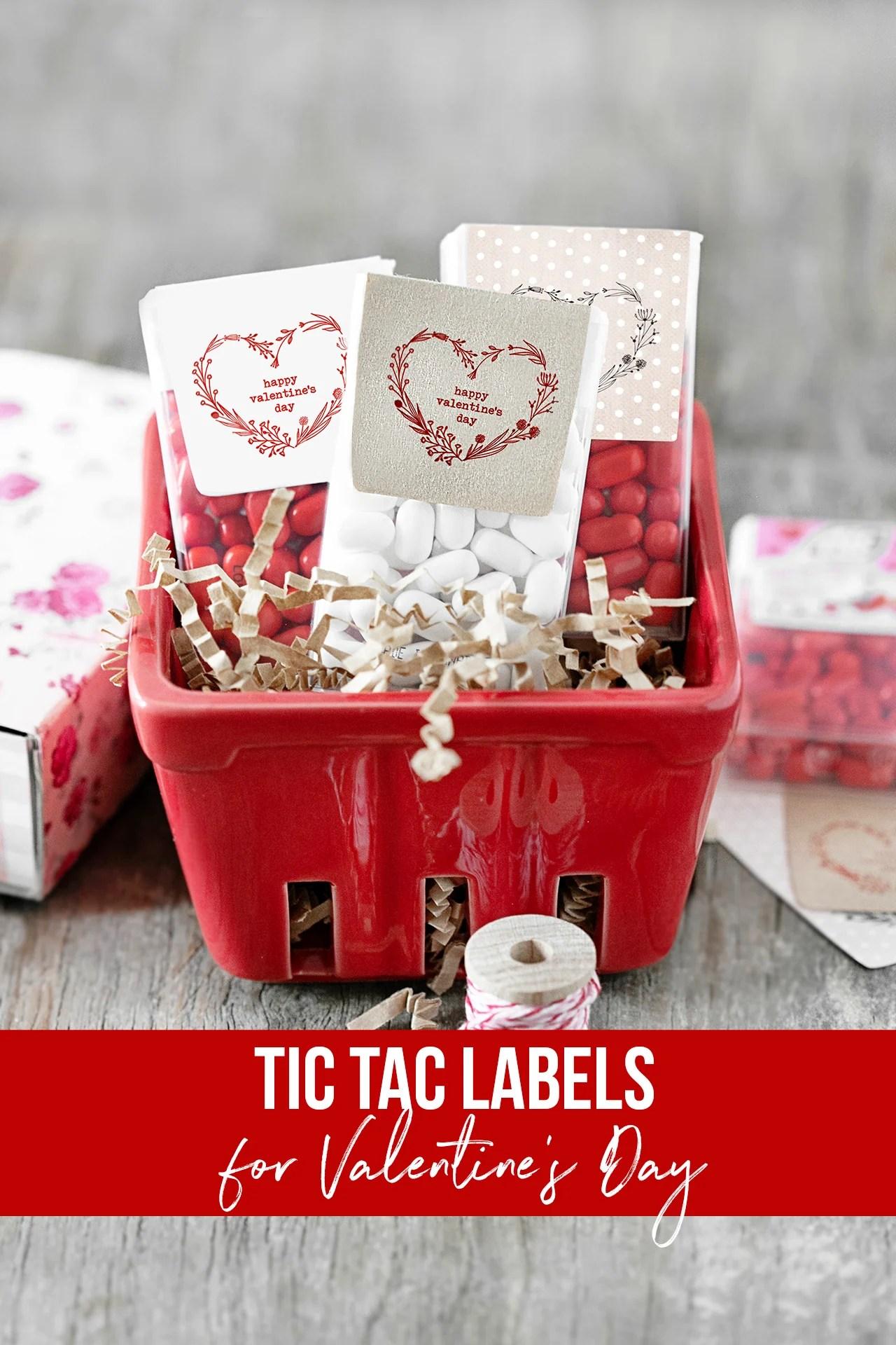 Tic Tac Valentines
