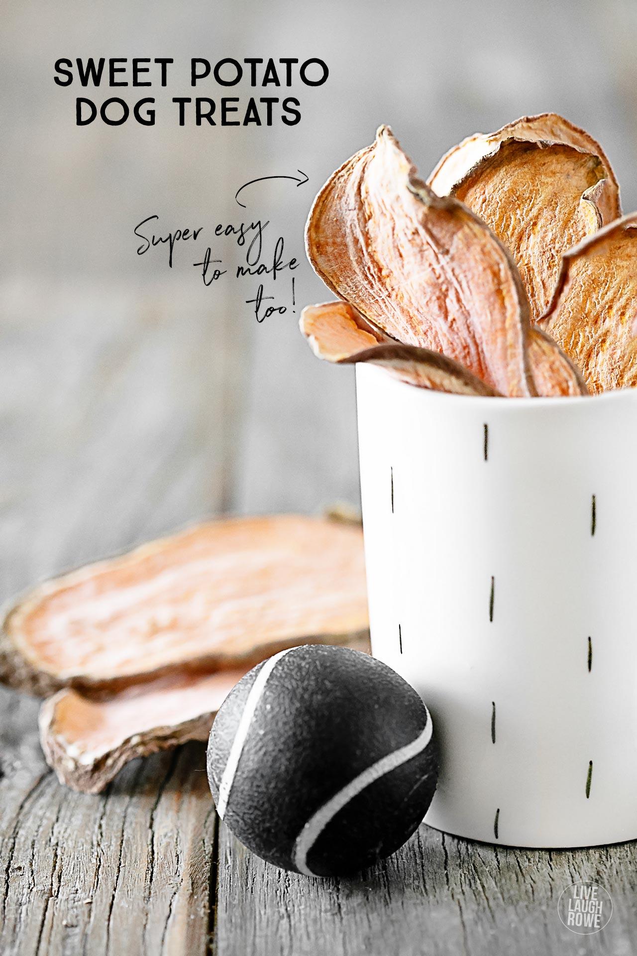 Sweet Potato Dog Treats Recipe