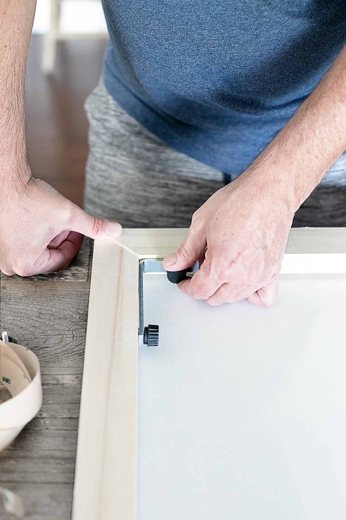 Assembling Canvas