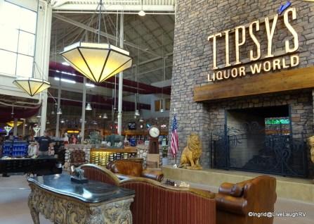 Tipsy's liquor store