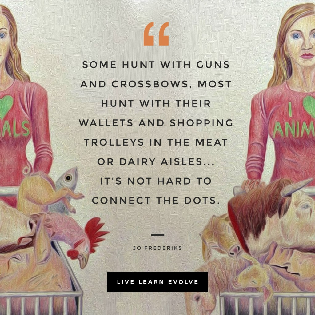 hunt_guns_hunt_wallets_dairy_vegan_quote