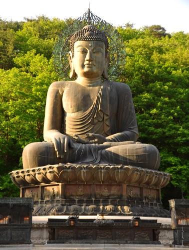 Big Buddha says Goodbye Seoraksan!