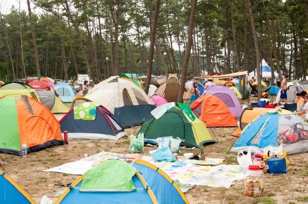 Tent City!