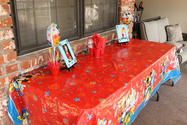 Mickey Mouse Birthday Party Livelifeartfully S Blog