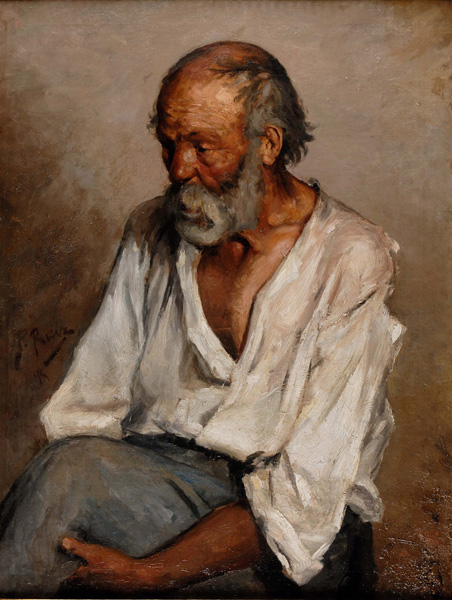 Pablo Picasso The old Fisherman