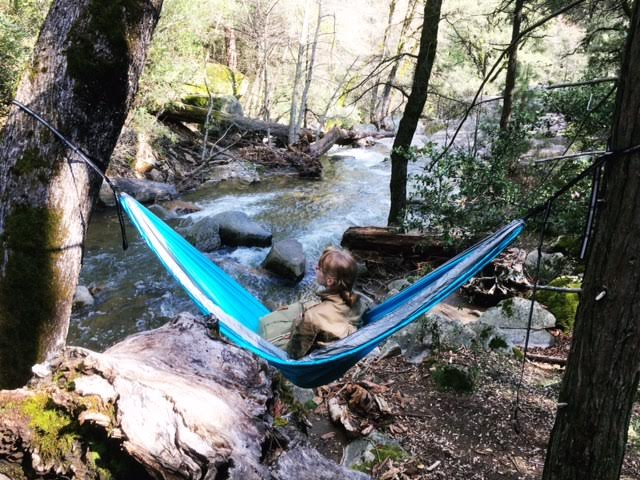 Hammocking at Lewis Creek