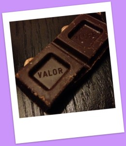 Valor irresistibly dark chocolate