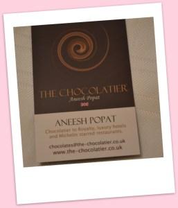 The Chocolatier, Aneesh Popat