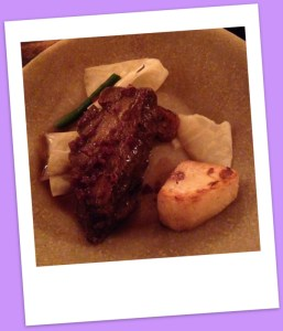 Tender ox cheek