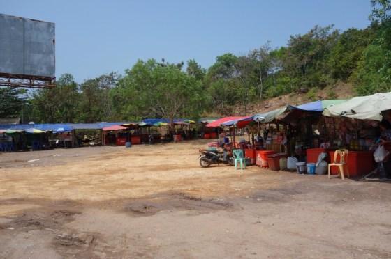 Cambodia, border crossing