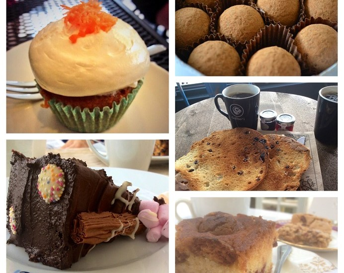 K Patisserie, Tacloban, Philippines, cupcake, Asia, Charbonnel et Walker, truffle, sea salt caramel, teacake, Coffee #1, Southsea, Tazzina Cafe, West Meon, The Tenth Hole, Eastney, chocolate fudge cake, raspberry & almond cake, pecan brownie