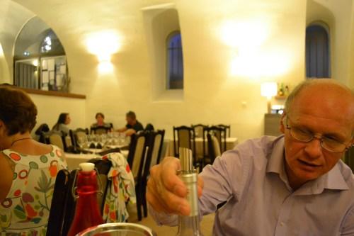 Philippe Anzallo, Au Moulin Gourmand, Cadenet, Provence, Luberon, Luberon restaurant, Cadenet Restaurant, family run, family run restaurant, olive mill, olive mill Cadenet. La Source, France, The Provence, provincial herbs.
