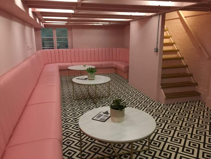 Hideout Pink room