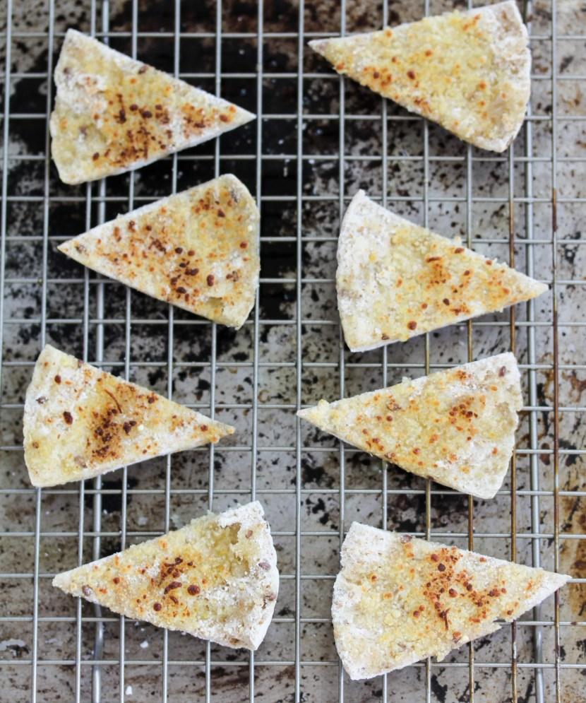 parmesan pita chips
