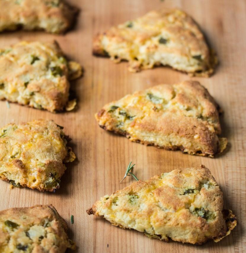jalapeño cheddar scones | Live Life - Love Food