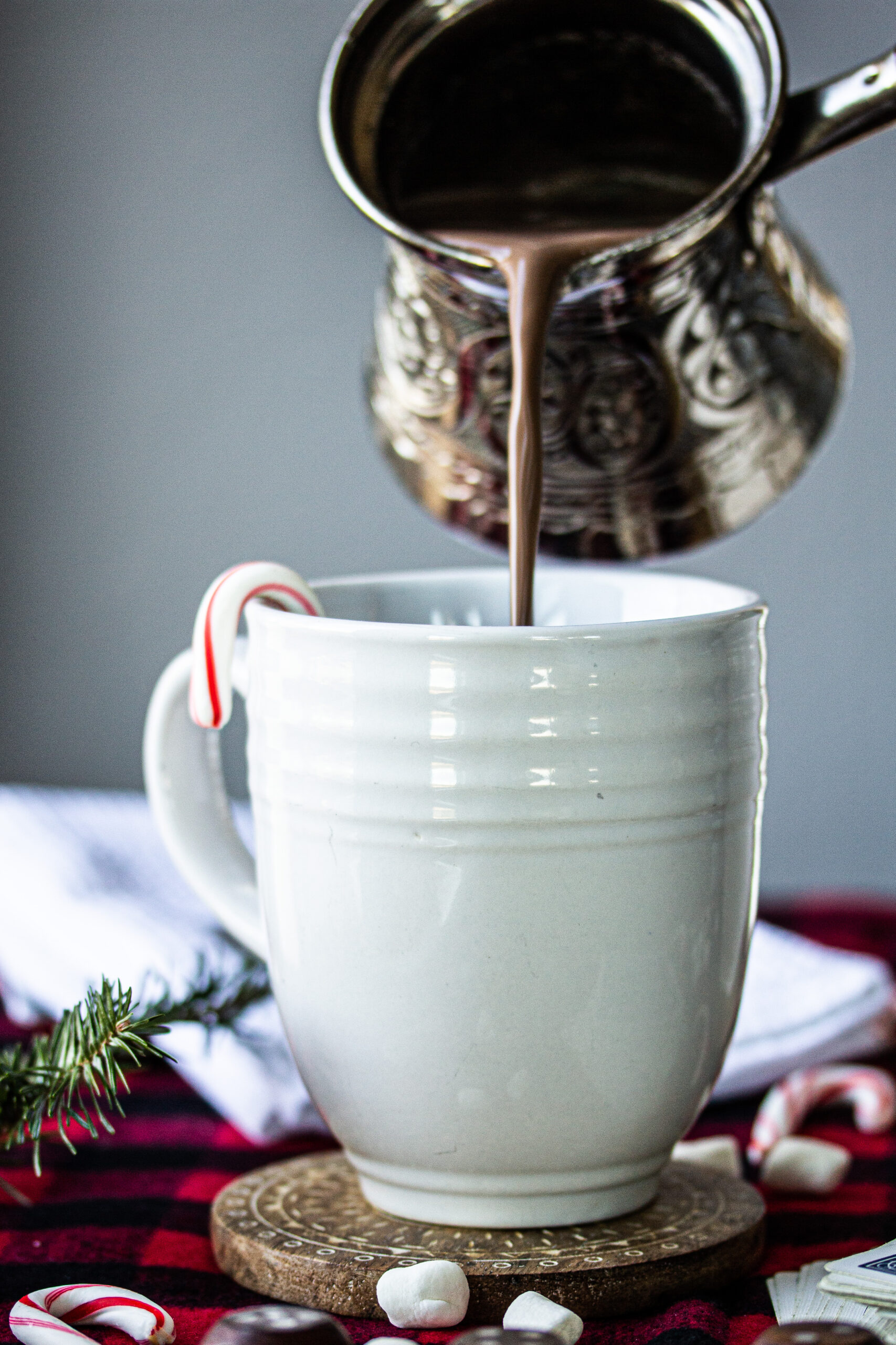 Homemade Hot Chocolate in mug