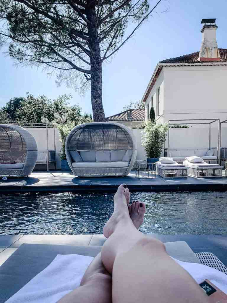 HOtel St Remy de Provence pool