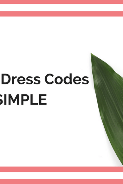 Professional Dress Codes Made Simple