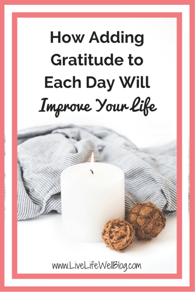 This November, let's commit to expressing gratitude daily instead of only on Thanksgiving. Find out a few simple ways that you can add gratitude to each day on LiveLifeWellBlog.com