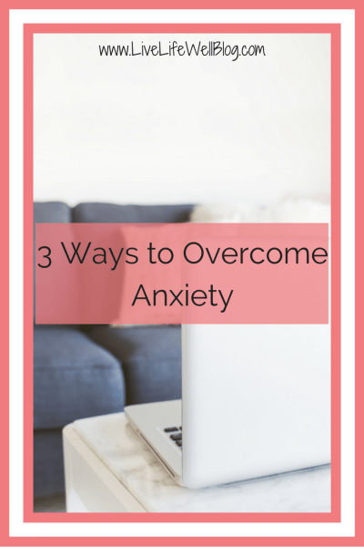 We are all constantly fighting battles that the rest of the world knows nothing about and my personal battle is one with anxiety. These 3 things have helped me to cope and I hope that they will help you as well.